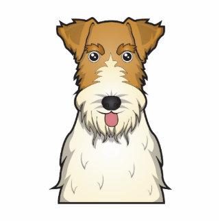 Wire Fox Terrier Cartoon Photo Cutout