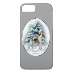 Case-Mate Barely There iPhone 7 Case with Wire Fox Terrier Phone Cases design
