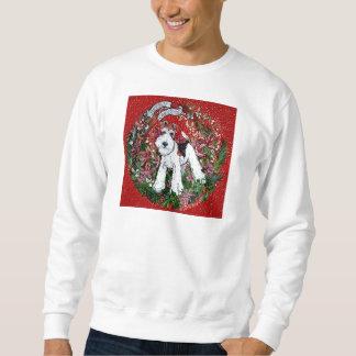 Wire Fox Terrier Christmas Sweatshirt