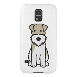 Case-Mate Barely There Samsung Galaxy S5 Case with Wire Fox Terrier Phone Cases design