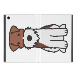 Powis iCase iPad Mini Case with Kickstand with Wire Fox Terrier Phone Cases design