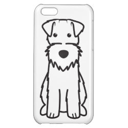 Case Savvy Matte Finish iPhone 5C Case with Wire Fox Terrier Phone Cases design