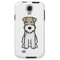 Case-Mate Barely There Samsung Galaxy S4 Case with Wire Fox Terrier Phone Cases design
