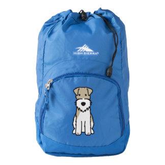 Wire Fox Terrier Dog Cartoon High Sierra Backpack