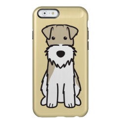 Incipio Feather® Shine iPhone 6 Case with Wire Fox Terrier Phone Cases design