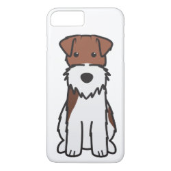 Case-Mate Tough iPhone 7 Plus Case with Wire Fox Terrier Phone Cases design