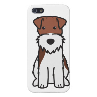 Wire Fox Terrier Dog Cartoon iPhone SE/5/5s Cover
