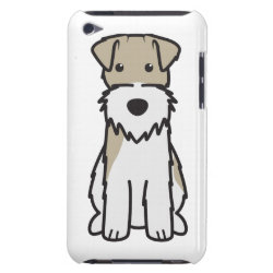 Case-Mate iPod Touch Barely There Case with Wire Fox Terrier Phone Cases design