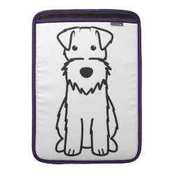 Macbook Air Sleeve with Wire Fox Terrier Phone Cases design
