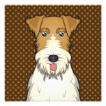 Wire Fox Terrier Dog Cartoon Paws Photograph