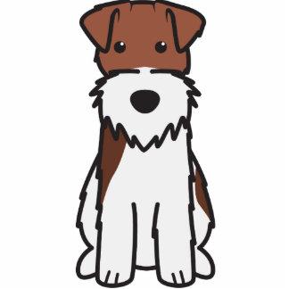 Wire Fox Terrier Dog Cartoon Photo Cut Out