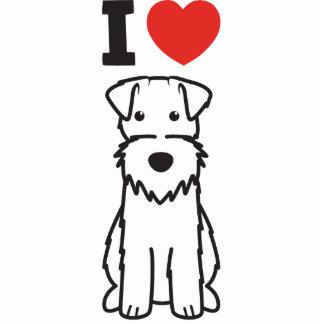 Wire Fox Terrier Dog Cartoon Cut Out