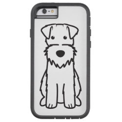 Case-Mate Barely There iPhone 6 Case with Wire Fox Terrier Phone Cases design