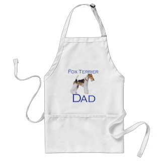 Wire Fox Terrier Father's Day Adult Apron