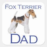 Wire Fox Terrier Father's Day Sticker