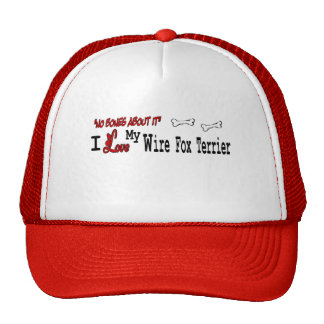 Wire Fox Terrier Gifts Trucker Hat