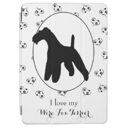 iPad Air Cover with Wire Fox Terrier Phone Cases design