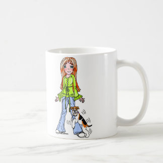 Wire Fox Terrier Honor Student (no text) Classic White Coffee Mug