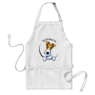 Wire Fox Terrier IAAM Adult Apron