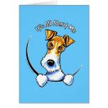 Wire Fox Terrier IAAM Card