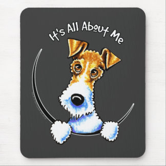 Wire Fox Terrier IAAM Mouse Pad