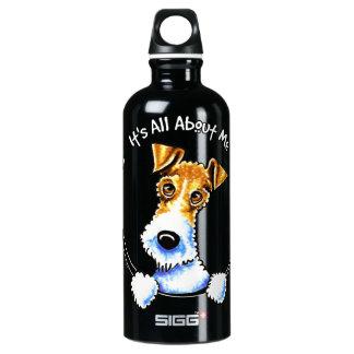 Wire Fox Terrier IAAM Water Bottle
