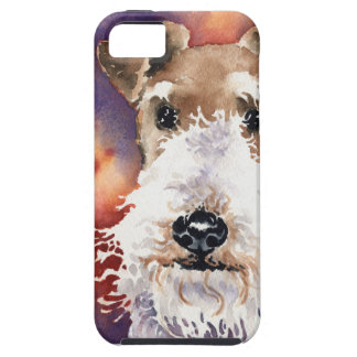 Wire Fox Terrier iPhone 5 Covers