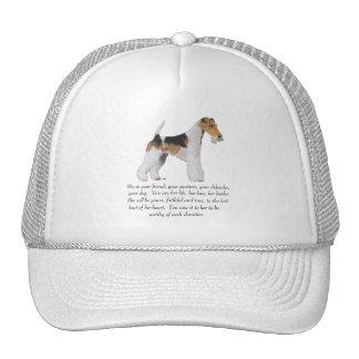 Wire Fox Terrier Keepsake FEMALE Trucker Hat