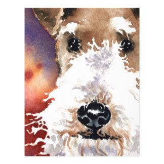 Wire Fox Terrier Letterhead
