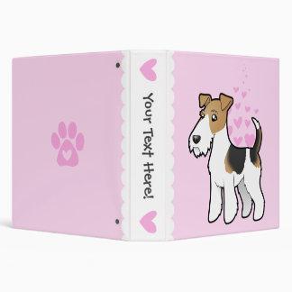 Wire Fox Terrier Love Binder