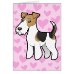 Wire Fox Terrier Love Card
