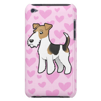 Wire Fox Terrier Love iPod Touch Case