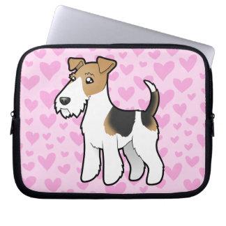 Wire Fox Terrier Love Laptop Computer Sleeve
