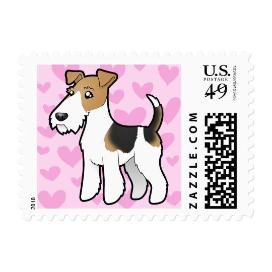 Wire Fox Terrier Love Postage
