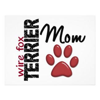 Wire Fox Terrier Mom 2 Flyer
