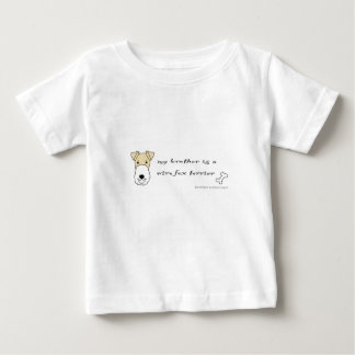 wire fox terrier - more breeds baby T-Shirt