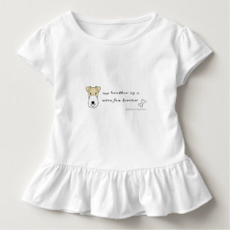 wire fox terrier - more breeds toddler t-shirt