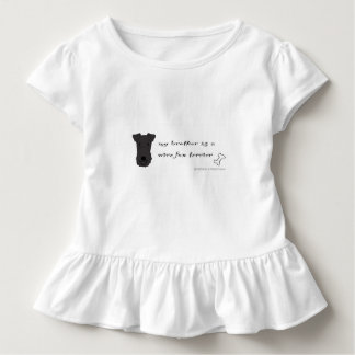 wire fox terrier- more breeds toddler t-shirt