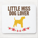 Wire Fox Terrier Mouse Pads