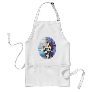 Wire Fox Terrier Parlor Pals Adult Apron