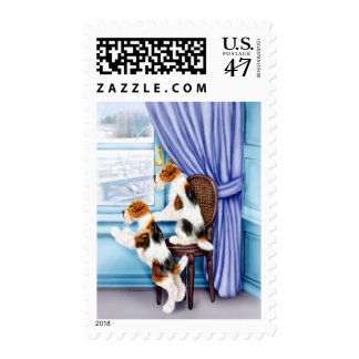 Wire Fox Terrier Parlor Pals Postage