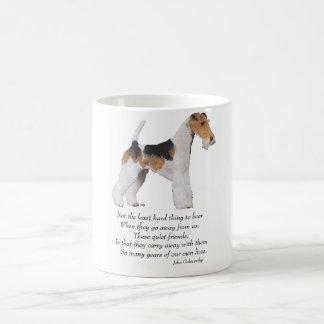 Wire Fox Terrier Rainbow Bridge Coffee Mug
