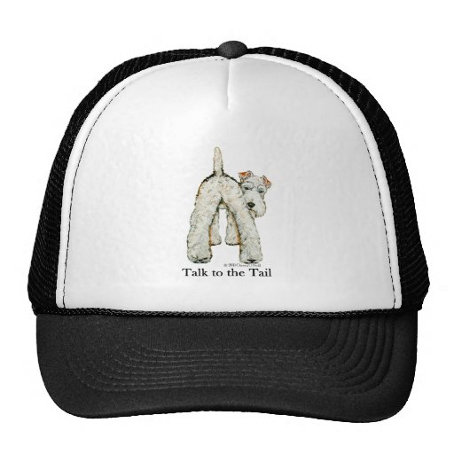 Wire Fox Terrier Tail Mesh Hats