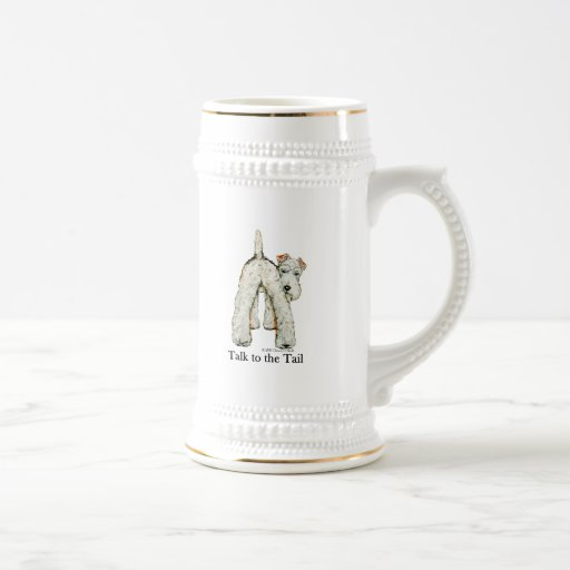 Wire Fox Terrier Tail Mugs