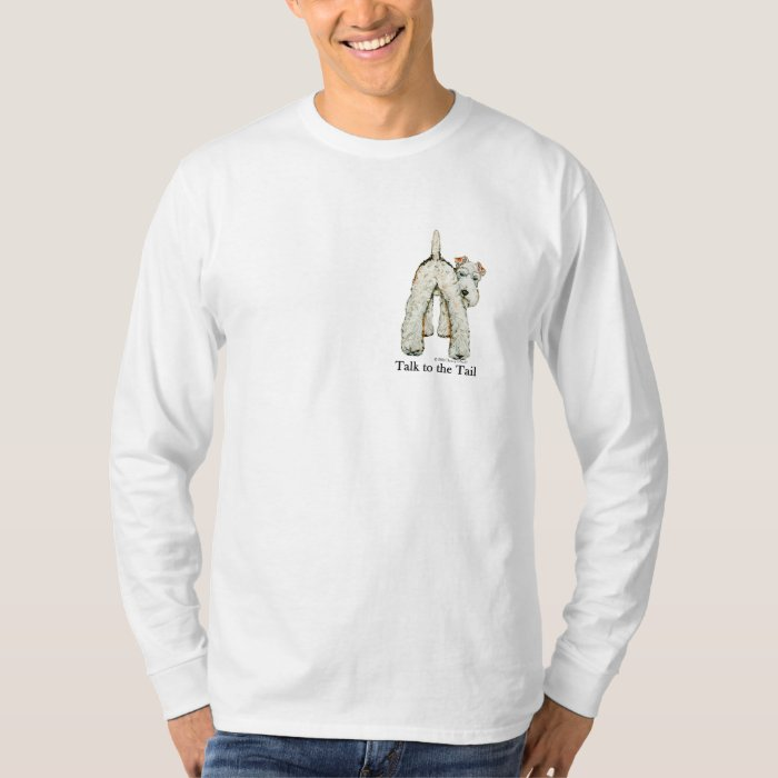 Wire Fox Terrier Tail T-Shirt