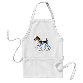 Wire Fox Terrier Trot Aprons