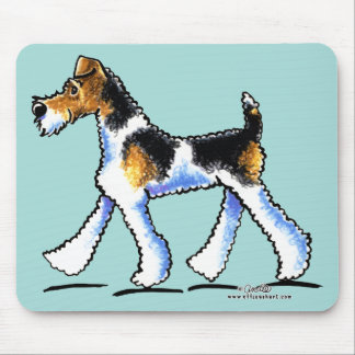 Wire Fox Terrier Trot Mouse Pad