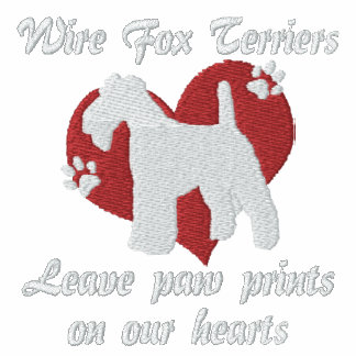 Wire Fox Terriers Leave Paw Prints