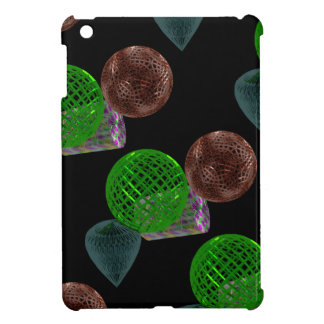 Wire Frame Shapes iPad Mini Cover