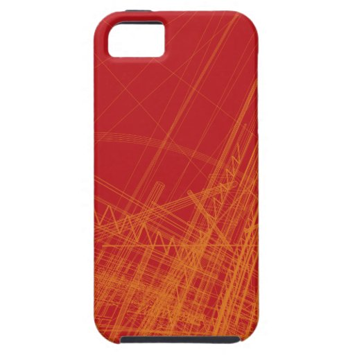 Wire Frame Structures iPhone 5 Cases